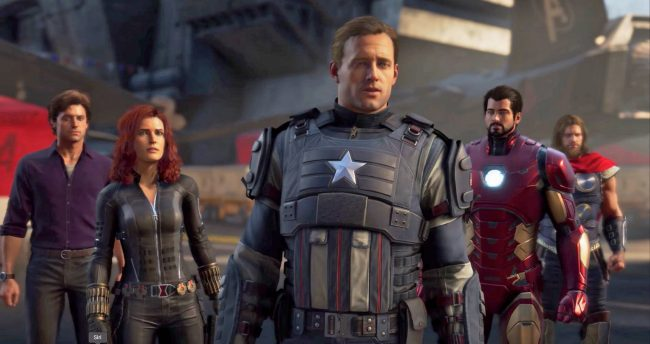 Behind Closed Doors With Marvel's The Avengers