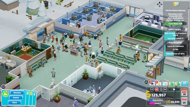 Two Point Hospital - A Sick Time