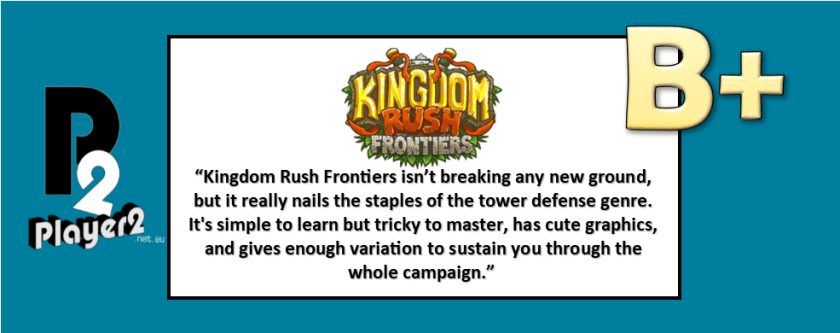 Kingdom Rush: Frontiers - Classic Tower Defence In Every Way