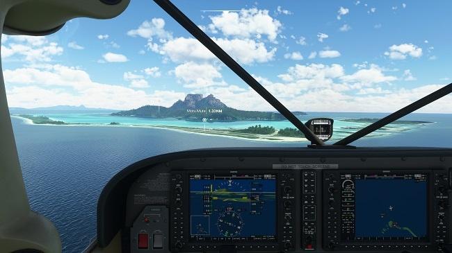 Microsoft Flight Simulator - Flying High on your Lounge