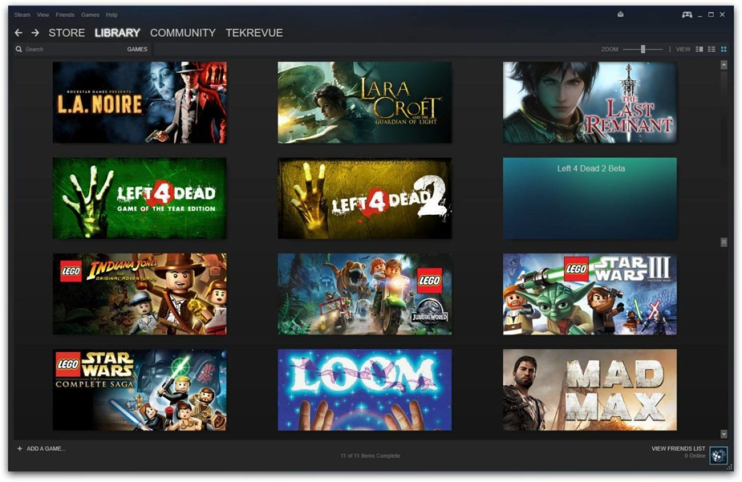 steam library unwanted game