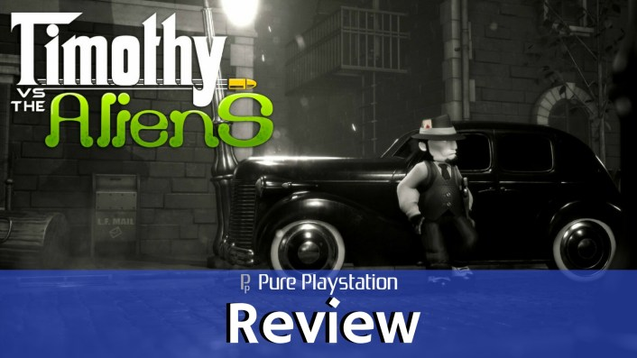 Review: Timothy vs the Aliens - PS4