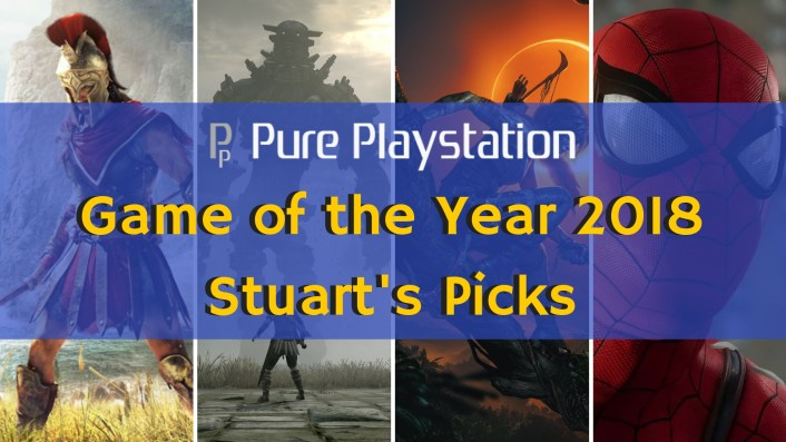 Feature : Game of the Year 2018: Stuart's Top 10 Games