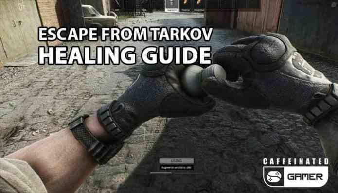 Escape From Tarkov Healing Guide