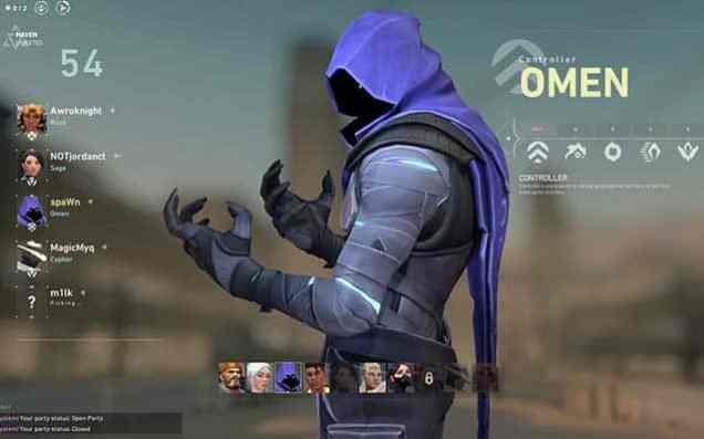 Valorant Omen Character, Abilities, Ultimates and More