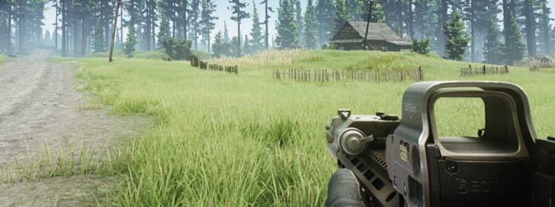 Escape from Tarkov Woods Map Extraction Points
