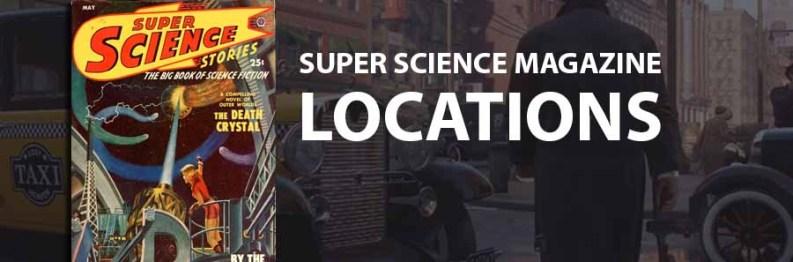 Mafia Definitive Edition : All Super Science Magazine Locations