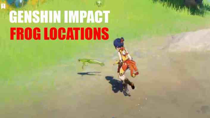 Genshin Impact – Where to Find Frogs | 12 Frog Locations