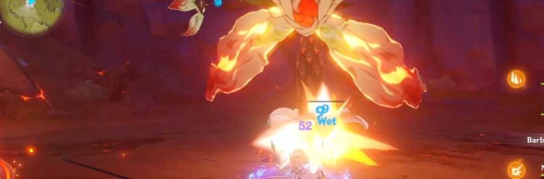 Genshin Impact Pyro Regisvine | How To Kill Pyro Regisvine