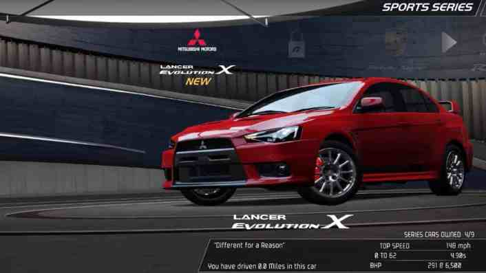 Best Starting Car NFS: Hot Pursuit Remastered