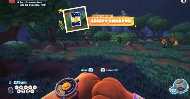 Bugsnax : How to Catch a Crispy Snakpod