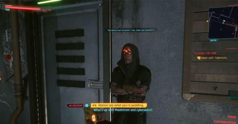 Cyberpunk 2077: How To Access Secret Maelstrom Merchant Location
