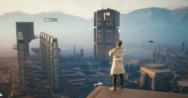 Cyberpunk 2077: How to Get on the Tallest Building