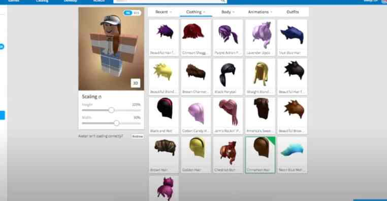 Roblox: How to Wear More Than One Hair
