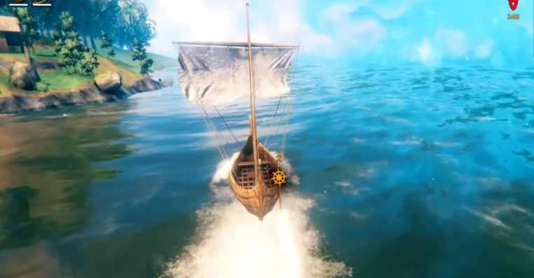Valheim: How to Sail