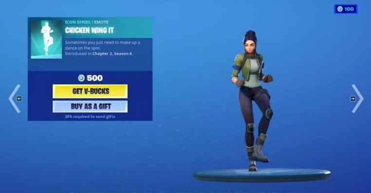 Fortnite: How to Get Chicken Wing-It Emote Free