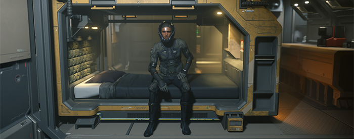 How to Get Out of Bed in Star Citizen