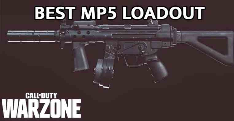 Call of Duty Warzone: Best MP5 loadout for Season 5