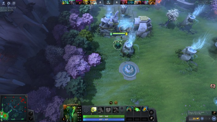 How to Change the Map Position in DOTA 2