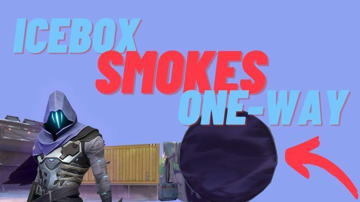 Valorant: The Best Omen One Way Smokes on Icebox (Defending)