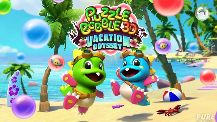 Puzzle Bobble 3D: Vacation Odyssey Gets First Gameplay Trailer and PS4/PS5 Cross-Buy Confirmation