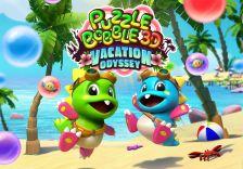 puzzle bobble 3d logo art
