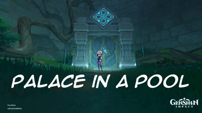 How to Unlock the Palace in a Pool Domain in Genshin Impact