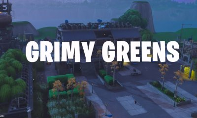 Grimy Greens, Fortnite, hayran yapımı, The Block