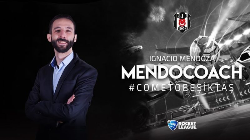 Beşiktaş Esports Rocket League kadrosu koçu, MendoCoach.