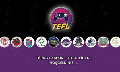 türkiye espor futbol ligi, tefl, fifa, gençlerbirliği, antalyaspor, trabzonspor, sakaryaspor, istanbul wild cats, galakticos