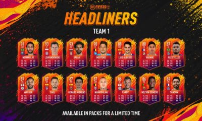 Headliners kartları oyuna eklendi!