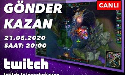 Gönder Kazan Twitch'te başlıyor