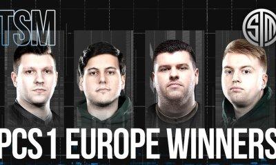 PCS1 Avrupa Büyük Finalleri'nin kazananı TSM oldu