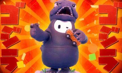 Godzilla skin'i Fall Guys'a eklendi