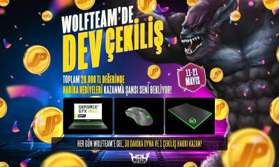 Bayramda Wolfteam'den 20.000 TL Değerinde Hediye Yağmuru!