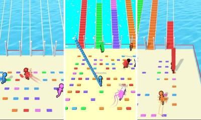 Garawell Games'in ilk oyunu Bridge Race nisan ayında 50 milyon indirmeyi aştı