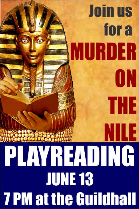Murder on the Nile Playreading
