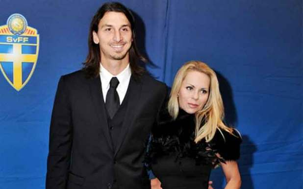 Image result for Zlatan Ibrahimovic and Helena Seger