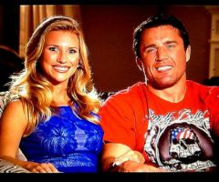 Chael Sonnen's Wife Brittany Smith
