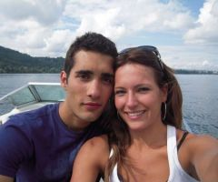 Martin Fourcade's Girlfriend Helene