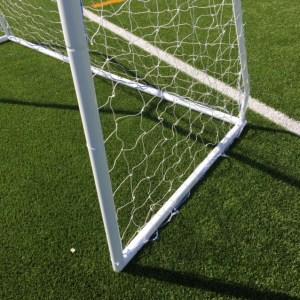 1 stk Fodboldmål i aluminium 244 x 183cm