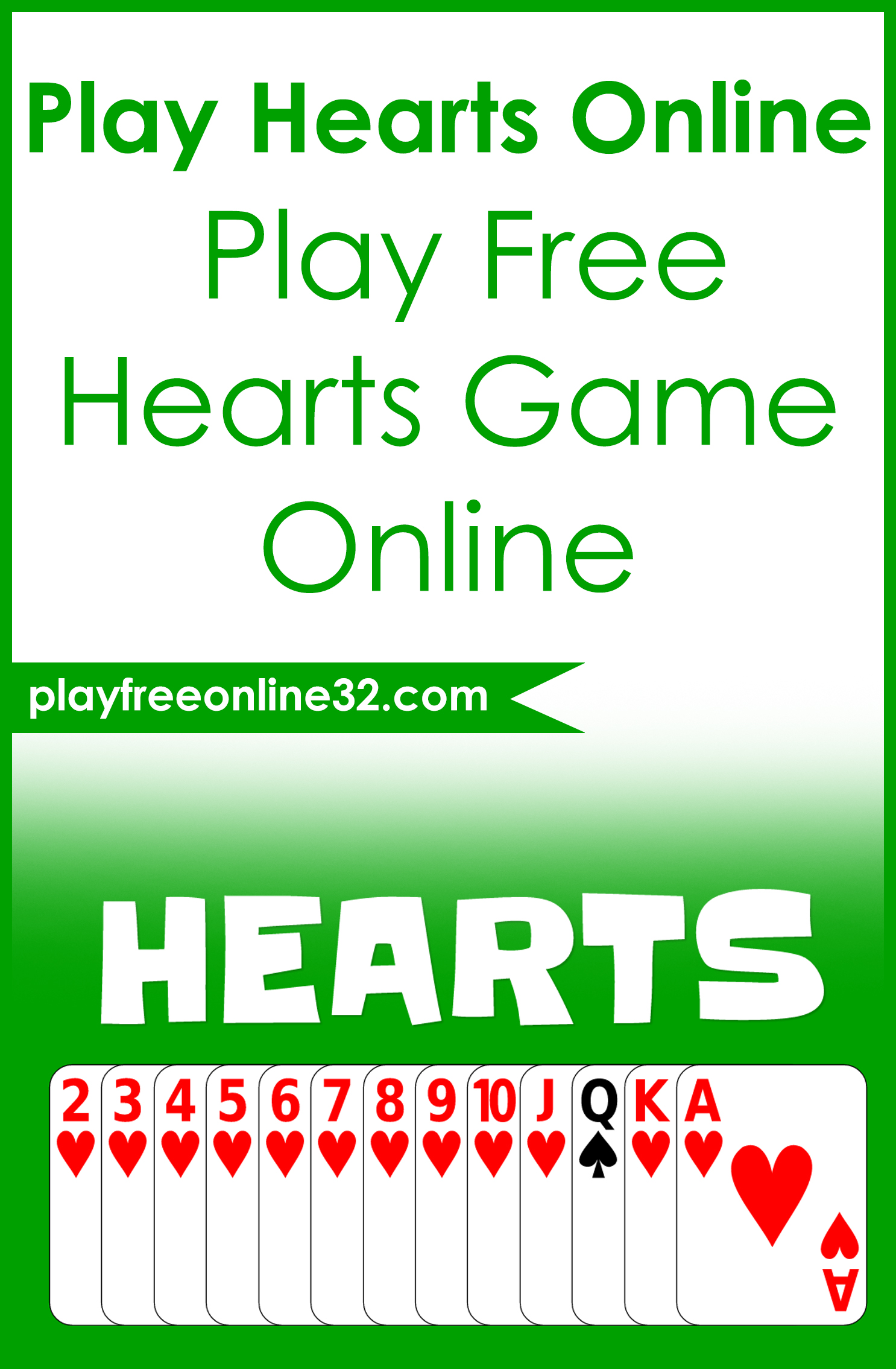 free online hearts play