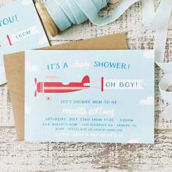 Playful Life with Kids DIY: Easy Baby Shower Invites and Games for Boys 2