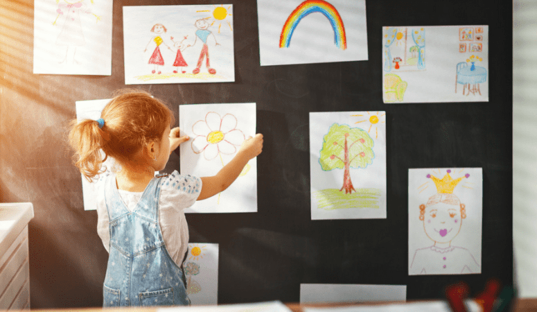 28 playful ideas that will make craft projects easy and fun for kids  {+ list of craft supplies}