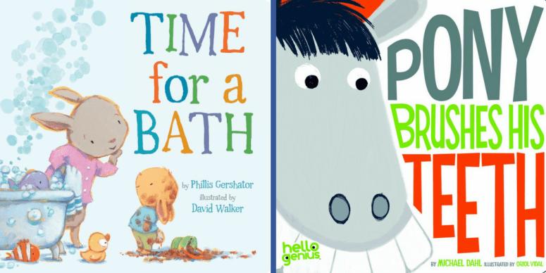 Children books about personal hygiene | Children books for toddlers | Children books for preschoolers | Books about personal hygiene