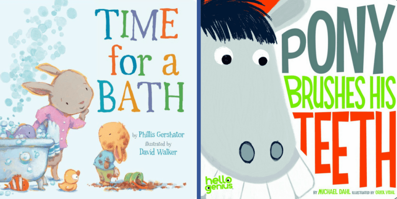 10 Great Children Books About Personal Hygiene For Toddlers And