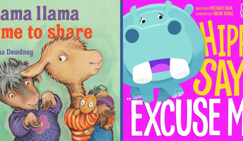13 children books about manners that are great for toddlers and preschoolers