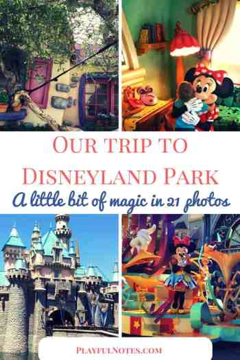 If you plan a trip to Disney Park with your kids, here is a collection of photos from our trip to Disneyland! | Trip to Disneyland | Disneyland California | Our experience at Disneyland