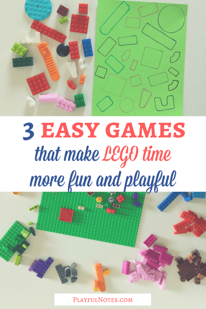 Lego games for kids: If you are looking for some nice Lego games for young kids, here are some ideas that I think your kids will enjoy! We had a lot of fun playing them! | Lego games for kids | Lego games for toddlers | Lego activities for toddlers | Lego games for preschoolers | Lego activities for kids