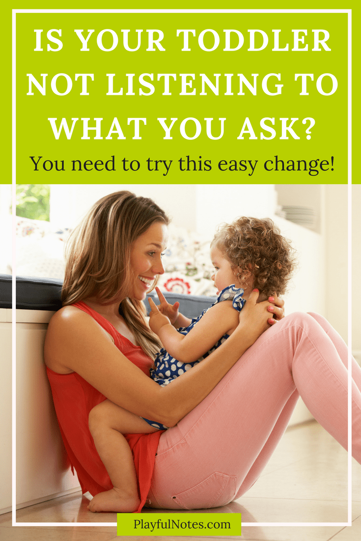 Is your child not listening to you? Try this easy and helpful tip!